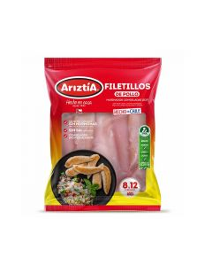 Filetillos de pollo IQF 650 gr
