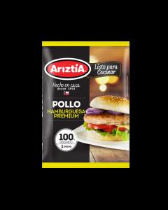 Hamburguesa de pollo premium 100 gr